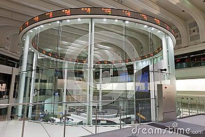 Tokyo Stock Exchange in Japan Editorial Stock Photo