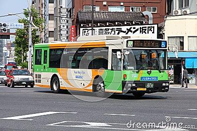 Tokyo - Toei Bus Editorial Stock Photo