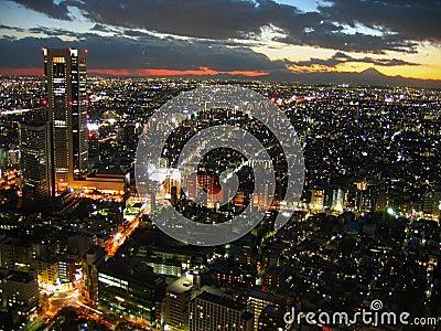Tokyo twilight, Japan