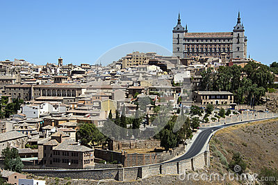 Toledo Alcazar - La Mancha - Spain