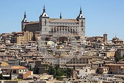 Toledo - Alcazar - Spain
