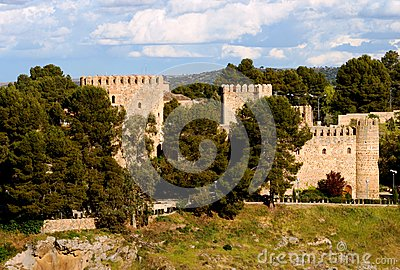 Toledo castle Editorial Image