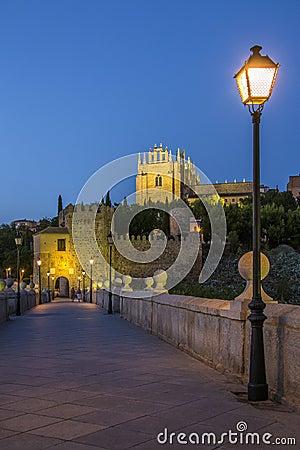 Toledo - Puente San Martin - Spain