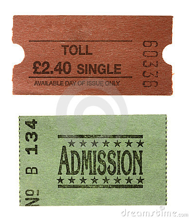 TOLL single GENERAL admission ticket