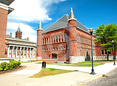 Tolley humanities building Editorial Stock Image
