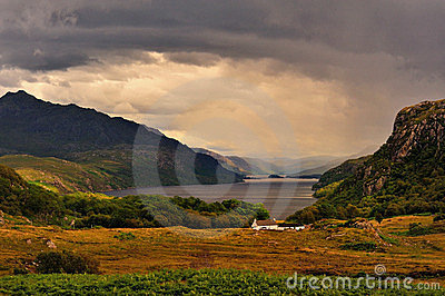 Tollie, loch Maree, Scottish highlands