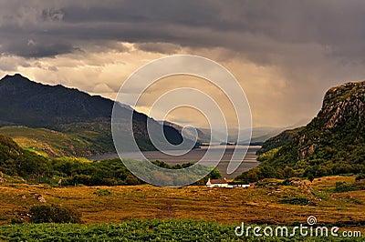 Tollie, loch Maree, Scottish highlands