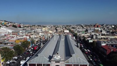 Toluca mexico cosmovitral stock video