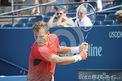 Tomáš Berdych Editorial Stock Photo