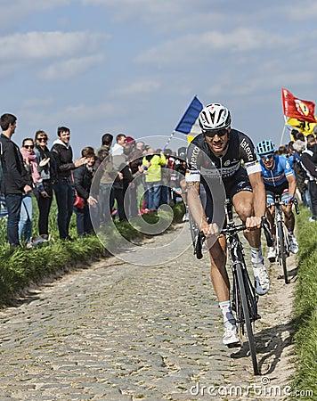 Tom Boonen Paris-Roubaix 2014 Editorial Stock Photo
