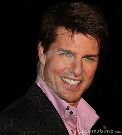 Tom Cruise Editorial Stock Image