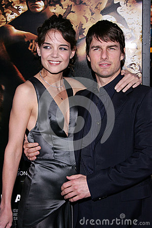 Tom Cruise,Katie Holmes Editorial Stock Photo