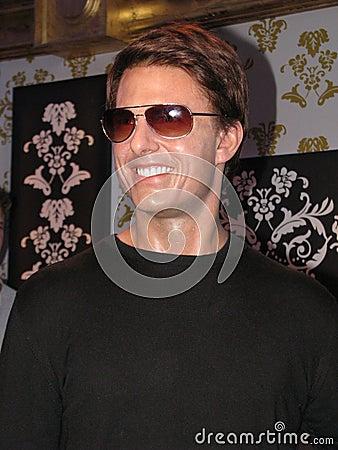 Tom Cruise - wax statue Editorial Photo