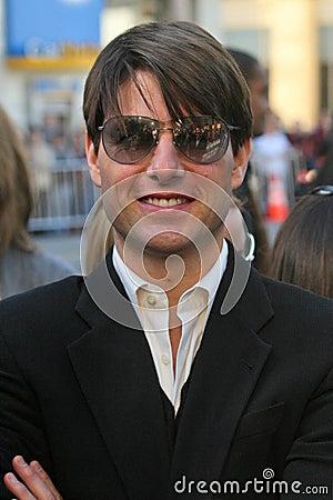 Tom Cruise, Will Smith Editorial Photo
