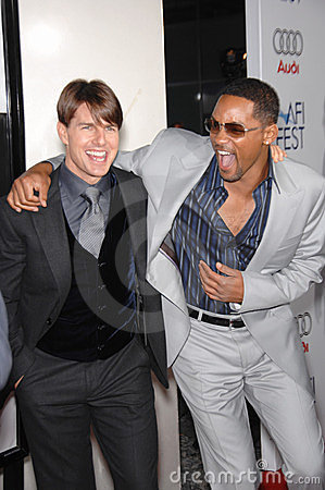 Tom Cruise, Will Smith Editorial Photo
