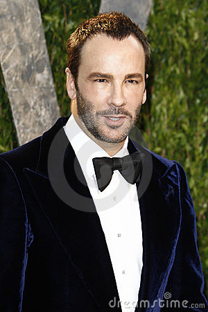 Tom Ford, Vanity Fair Editorial Stock Image