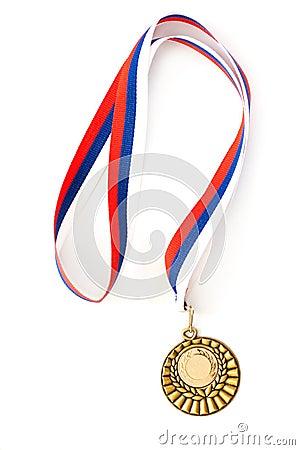 Tom guld- medaljmall