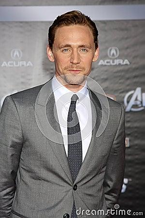 Tom Hiddleston,Tom Hiddlestone Editorial Stock Image