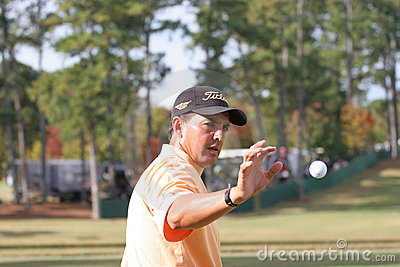 Tom Pernice jr, Tour Championship, Atlanta, 2006 Editorial Photography