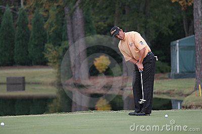 Tom Pernice jr, Tour Championship, Atlanta, 2006 Editorial Stock Image