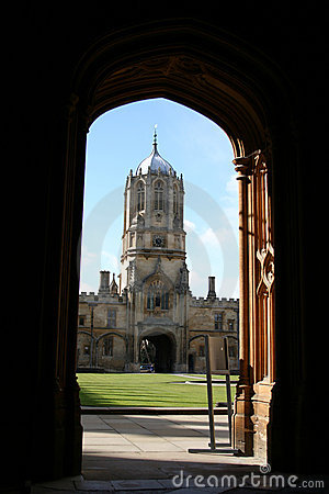 Tom Tower Oxford