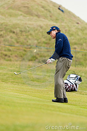 Tom Watson  at the 2011 open Editorial Image