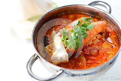 Tom yam kung Stock Photo