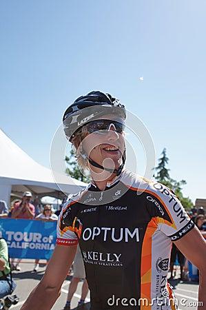 Tom Zirbel 2012 Amgen Tour of California  Editorial Photo