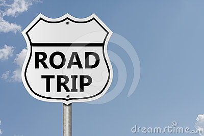 Tomando uma viagem por estrada