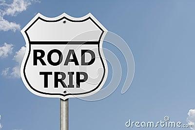 Tomar un viaje por carretera