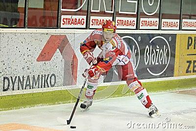 Tomas Hertl - Slavia Prague Editorial Stock Photo