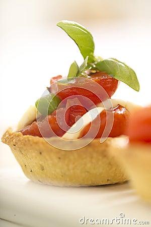 Tomato and bocconcini