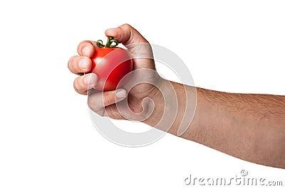 Tomato Bomb Stock Photo