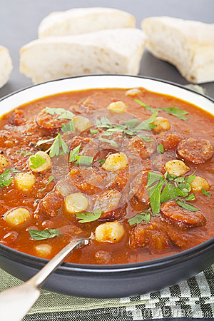 Spanish Chickpea And Chorizo Soup Recipes — Dishmaps