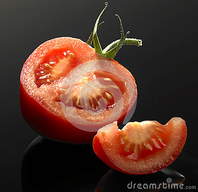 Tomato and cut
