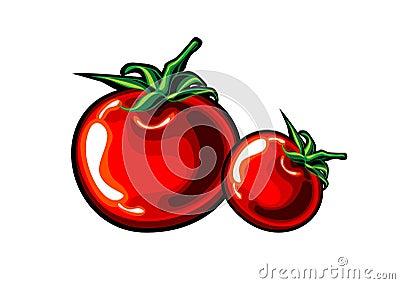 Tomato handmade animation