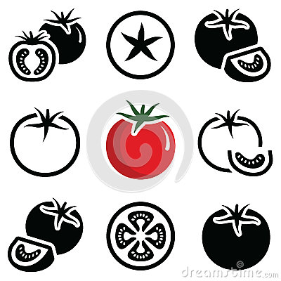 Free Tomato Icon Stock Photography - 84969952