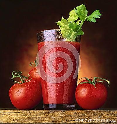 Free Tomato Juice Royalty Free Stock Photos - 8845868
