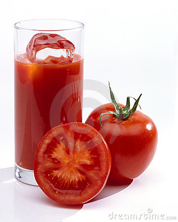 Free Tomato Juice In Glass Royalty Free Stock Photography - 12224457