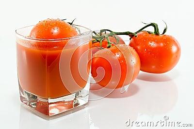 Tomato juice and tomato