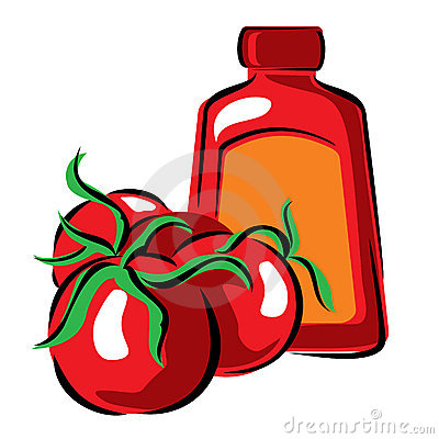 Tomato and ketchup