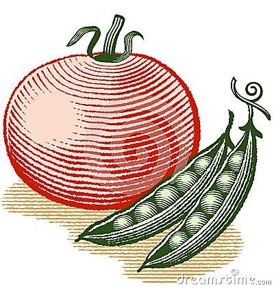 Tomato and Peas