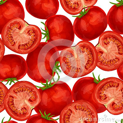 Free Tomato Seamless Pattern Stock Photos - 41199583