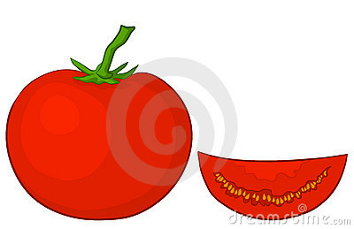 Tomato and segment