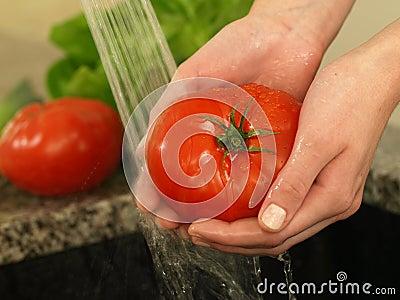 Tomato shower