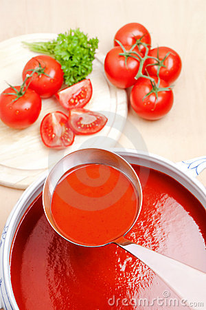 Free Tomato Soup Stock Photography - 10189292