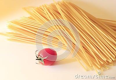 Tomato and spaghetti