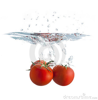 Free Tomato Splash Stock Photography - 23058432