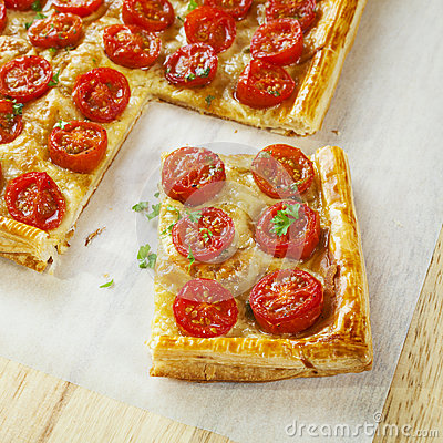 Tomato Tart Royalty Free Stock Photography - Image: 25245987