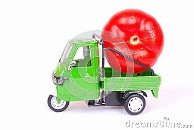 Tomato in transport